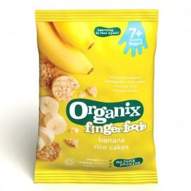 ORGANIX Ρυζογκοφρέτα Ολικής Μπανάνα 50g