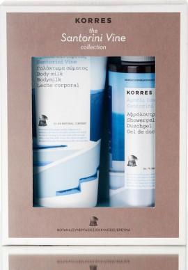 Korres Set Αμπέλι Σαντορίνης Αφρόλουτρο & Κρέμα Σώματος 250ml+200ml