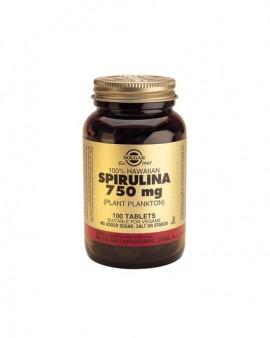 Solgar Spirulina 750mg 100 ταμπλέτες