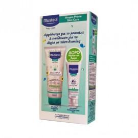 Mustela Stelatopia Cleansing Gel 200ml & Δώρο Stelatopia Emollient Face Cream 40ml