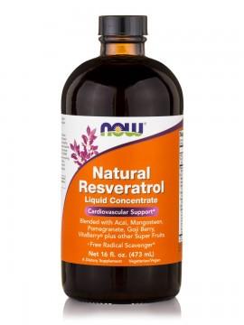 Now Foods Resveratrol Liquid Concentrate 16oz 473ml