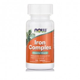 Now Iron Complex 100 ταμπλέτες
