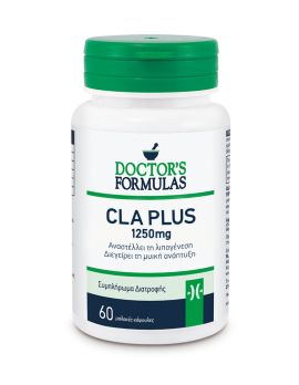 Doctors Formulas CLA Plus 1250 mg 60 κάψουλες