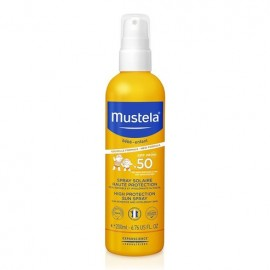 Mustela Bebe High Protection Sun Spray SPF50 200ml