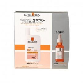 La Roche-Posay Promo Anthelios Shaka Fluide Teintee SPF50+ 50ml & Δώρο Pure Vitamin C10 10ml