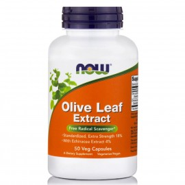 Now Olive Leaf Extract 50caps