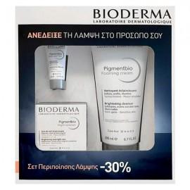 Bioderma Promo Pigmentbio Foaming Cream 200ml & Daily Care SPF50+ 5ml & Night Renewer 50ml