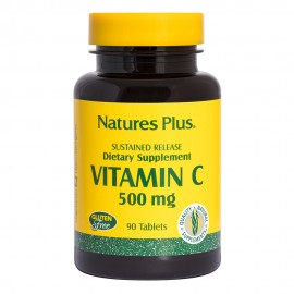 NaturesPlus Super C 500mg with Rose Hips 90 ταμπλέτες