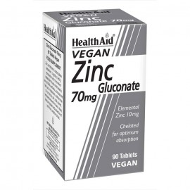 HealthAid Zinc Gluconate 70mg 90 tabs
