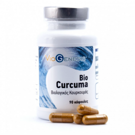 Viogenesis Bio Curcuma (Βιολογικός Κουρκουμάς) 90caps