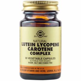 Solgar Lutein Lycopene Carotene Complex 30 Caps