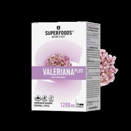 Superfoods Βαλεριάνα Plus 50 φυτικές κάψουλες