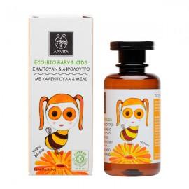 Apivita Eco Bio Baby&Kids Σαμπουάν-Αφρόλουτρο 200ml