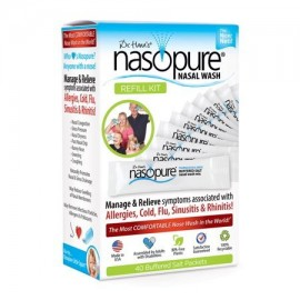 Nasopure Refill Kit Ρυθμιστικό διάλυμα άλατος 3,75g x 40φακελάκια