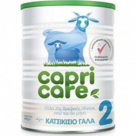 CAPRICARE 2 βρεφικό γάλα με βάση το κατσικίσιο γάλα 400gr