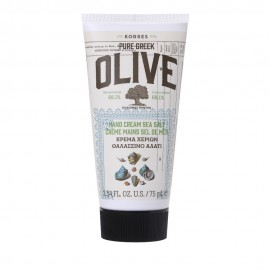 KORRES Olive Hand Cream Sea Salt Κρέμα Χεριών Θαλασσινό Αλάτι 75ml