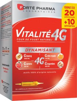Forte Pharma Vitalite 4G  Αμπούλες 20 & 10ΔΩΡΟ