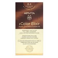 Apivita My Color Elixir 8.4 Ξανθό Ανοιχτό Χάλκινο