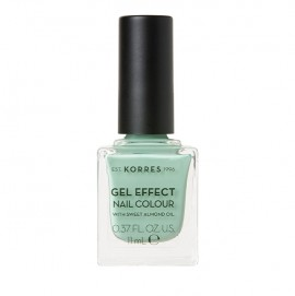 KORRES Gel Effect Βερνίκι Νυχιών 35 Mint Green 11ml