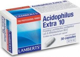 Lamberts Acidophilus Extra 10 με 30caps