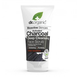 Dr.Organic BioActive Skincare Activated Charcoal Deep Cleansing Face Scrub 125ml