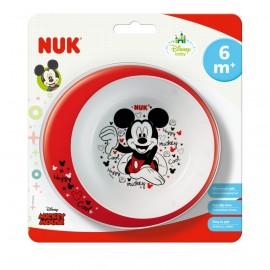 Nuk Μπολ Φαγητού Mickey για Φούρνο Μικροκυμάτων 6m+