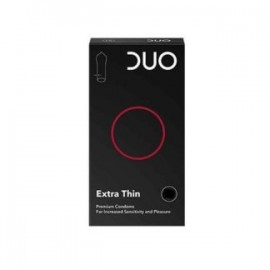 DUO Extra Thin Προφυλακτικά Πολύ Λεπτά 6 τεμάχια