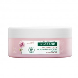 Klorane Soothing-Body Moisturizing Gel-cream with Peony 200ml