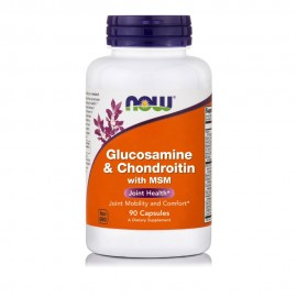Now Glucosamine & Chondroitin 1500/1200mg & MSM 300mg 90caps