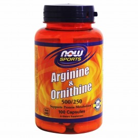 Now L-Arginine & L-Ornithine (Sports) 100 caps