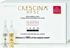 Labo Crescina HFSC 100% Complete Treatment 1300 Man 10+10 Αμπούλες