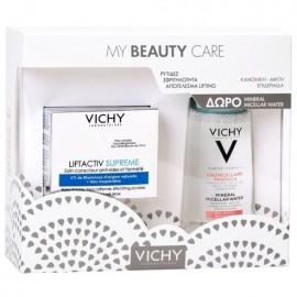 Vichy Promo Pack Liftactiv Supreme 50ml & Δώρο Mineral Micellar Water Sensitive 100ml