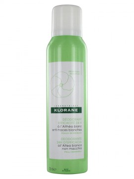 Klorane Spray Deodorant 24 Effectiveness with White Althea 125ml