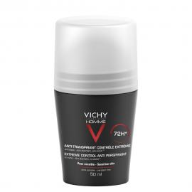 Vichy Homme 72h Αποσμητικό κατά της έντονης εφίδρωσης 50ml