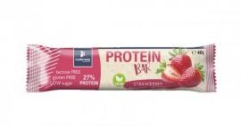 My Elements Protein Bar Vegan Strawberry Μπάρα Πρωτεΐνης Χωρίς Λακτόζη Και Γλουτένη 40gr