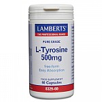 Lamberts L-Tyrosine 500mg 60caps