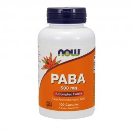 Now PABA 500mg 100 κάψουλες