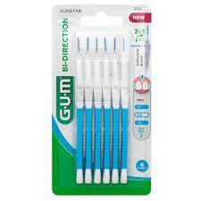 Gum Bi-Directional Ultra Fine 0,9 (2314) Μεσοδόντια βουρτσάκια 6τεμ