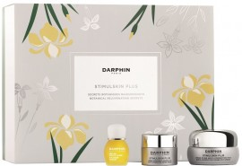 Darphin Promo Set Stimulskin Plus Multi-Corrective Divine Eye Cream 15ml & Stimulskin Plus Absolute Renewal Rich Cream 5ml & Essential Oil Elixir 8-Flower Golden Nectar 4ml