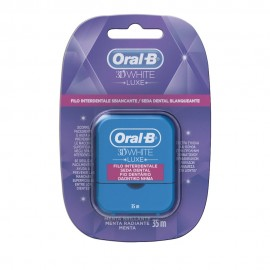 Oral-B 3D White Luxe Dental-Floss 35m