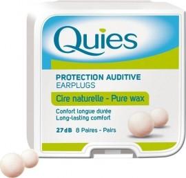 Quies Wax Earplugs 8 Ζεύγη Κέρινες Ωτοασπίδες