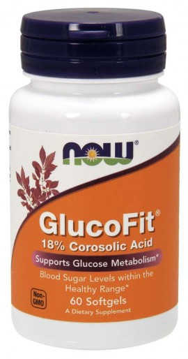 Now Glucofit 60softgels